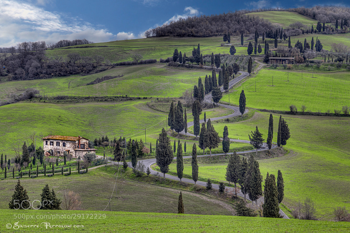 Photograph Winding road by Giuseppe  Peppoloni on 500px