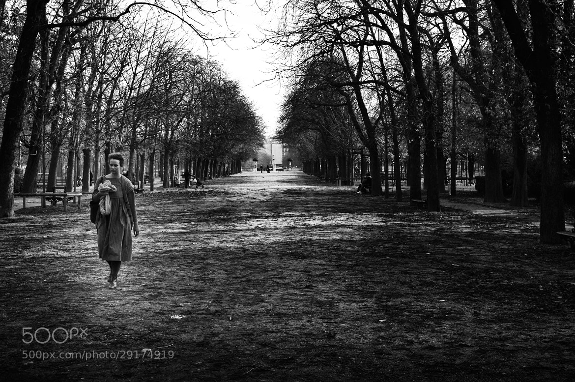 Photograph the lonely girl in the park by JT Jones on 500px