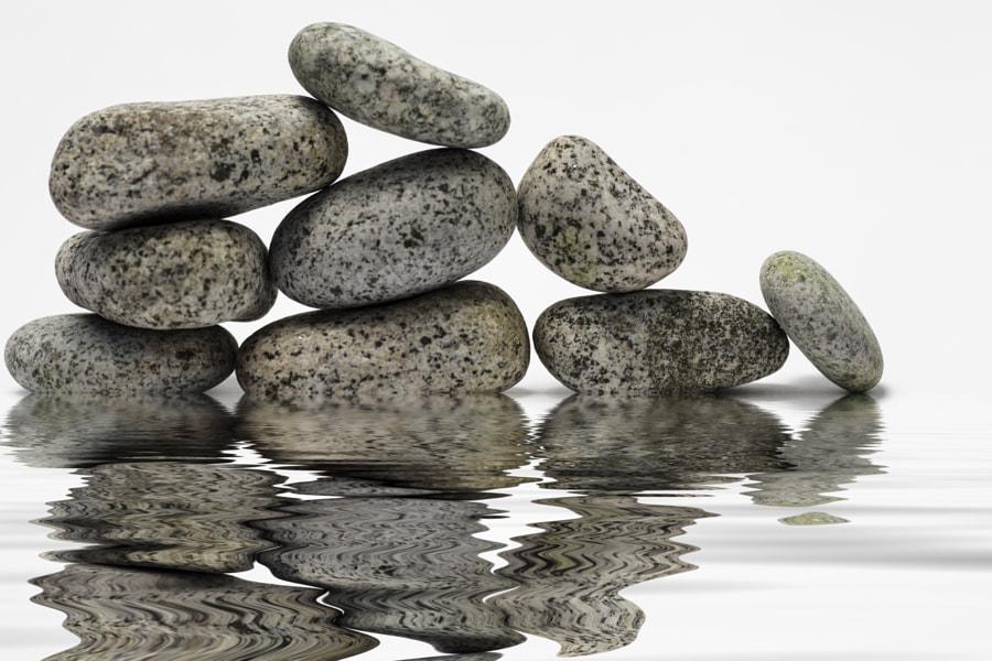 mirroring the stones