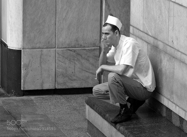 Photograph Smoking Chef by Linda Wisdom on 500px