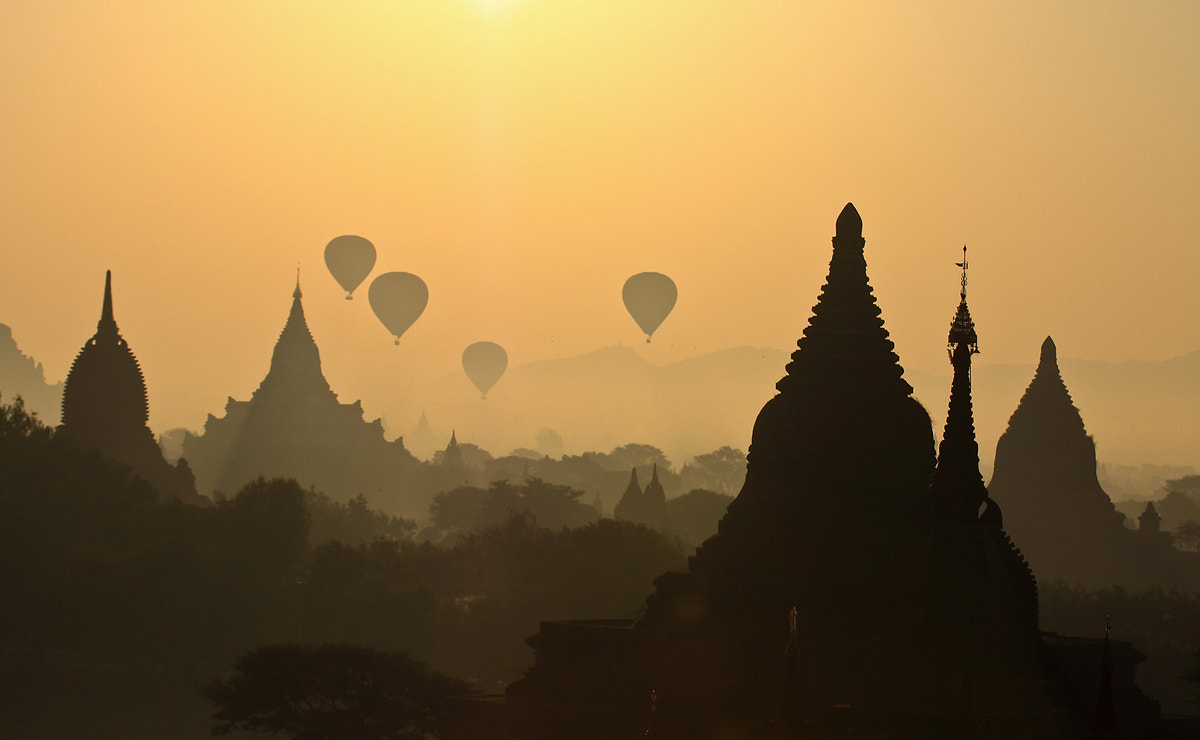 Photograph Bagan in the morning by ทิวทิวา ภูตะวัน on 500px
