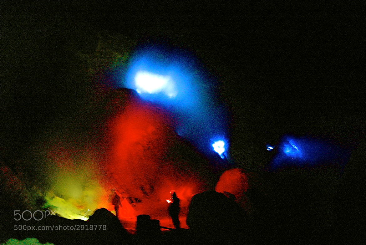 Photograph Blue Fire by Rose Kampoong on 500px