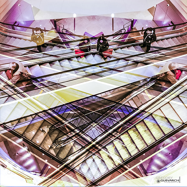 Photograph up down down up up down down up by Gregory Guivarch on 500px