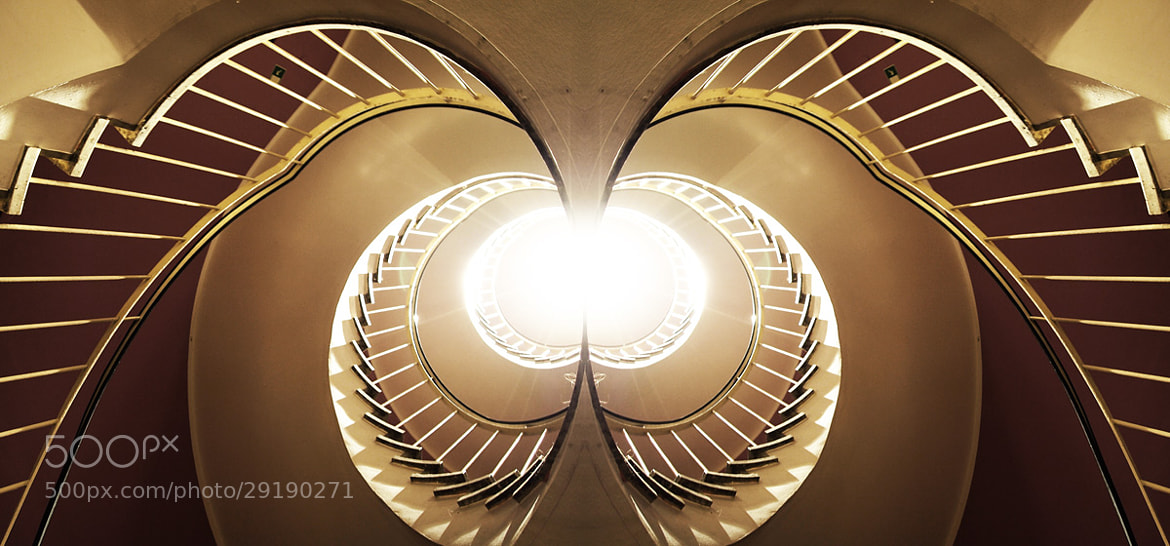 Photograph Interpretation of a staircase by Arnd Gottschalk on 500px