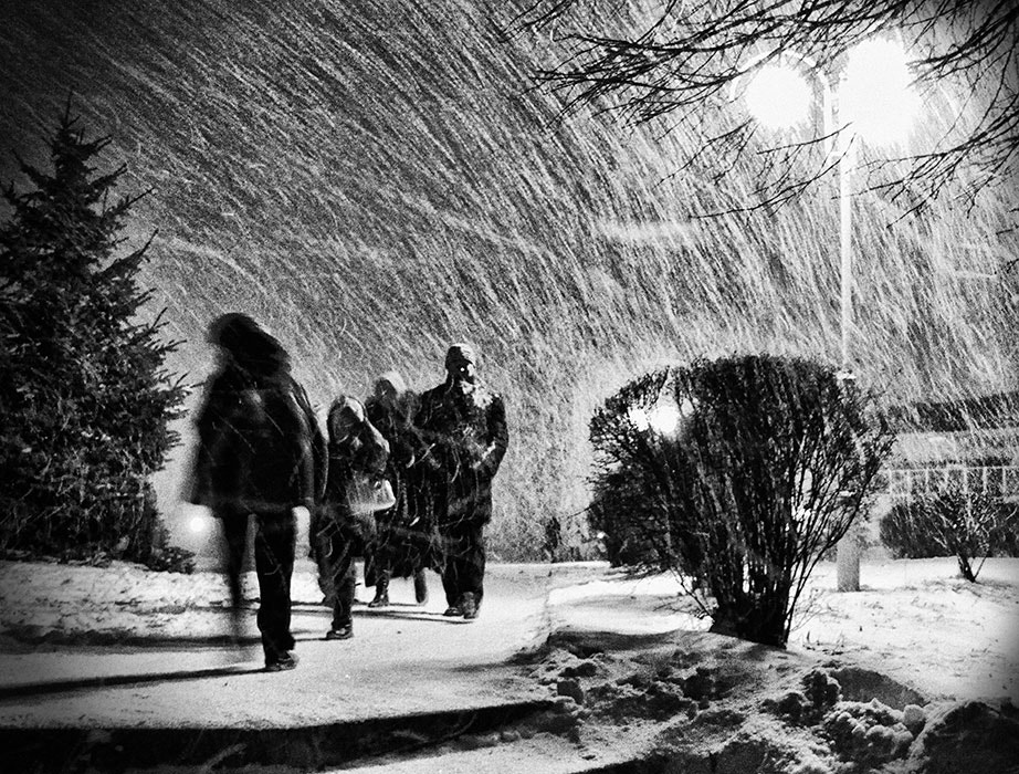 Photograph snow vs people by ash ... on 500px