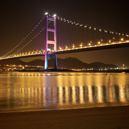 Tsing Ma Bridge (HDR)