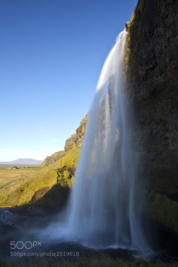 Seljalandsfoss is one of the most famous waterfalls of Iceland. It is very picturesque and therefore its photo can be found in many books and calendars.