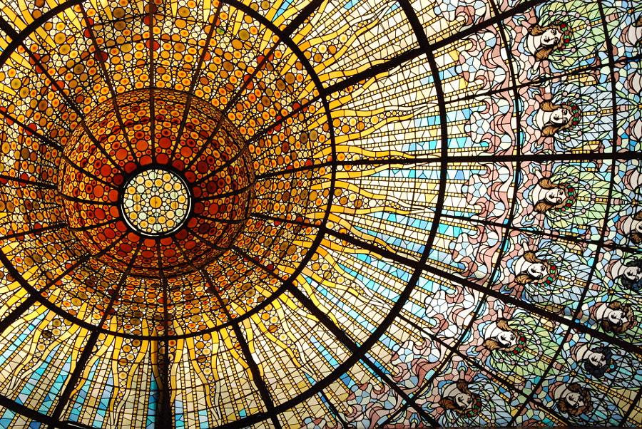 Palau de la Música Catalana by B Fav on 500px.com