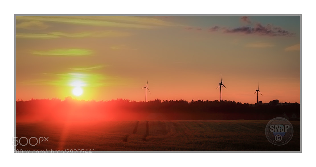 Photograph Sunset by Stefan Gustavsson on 500px