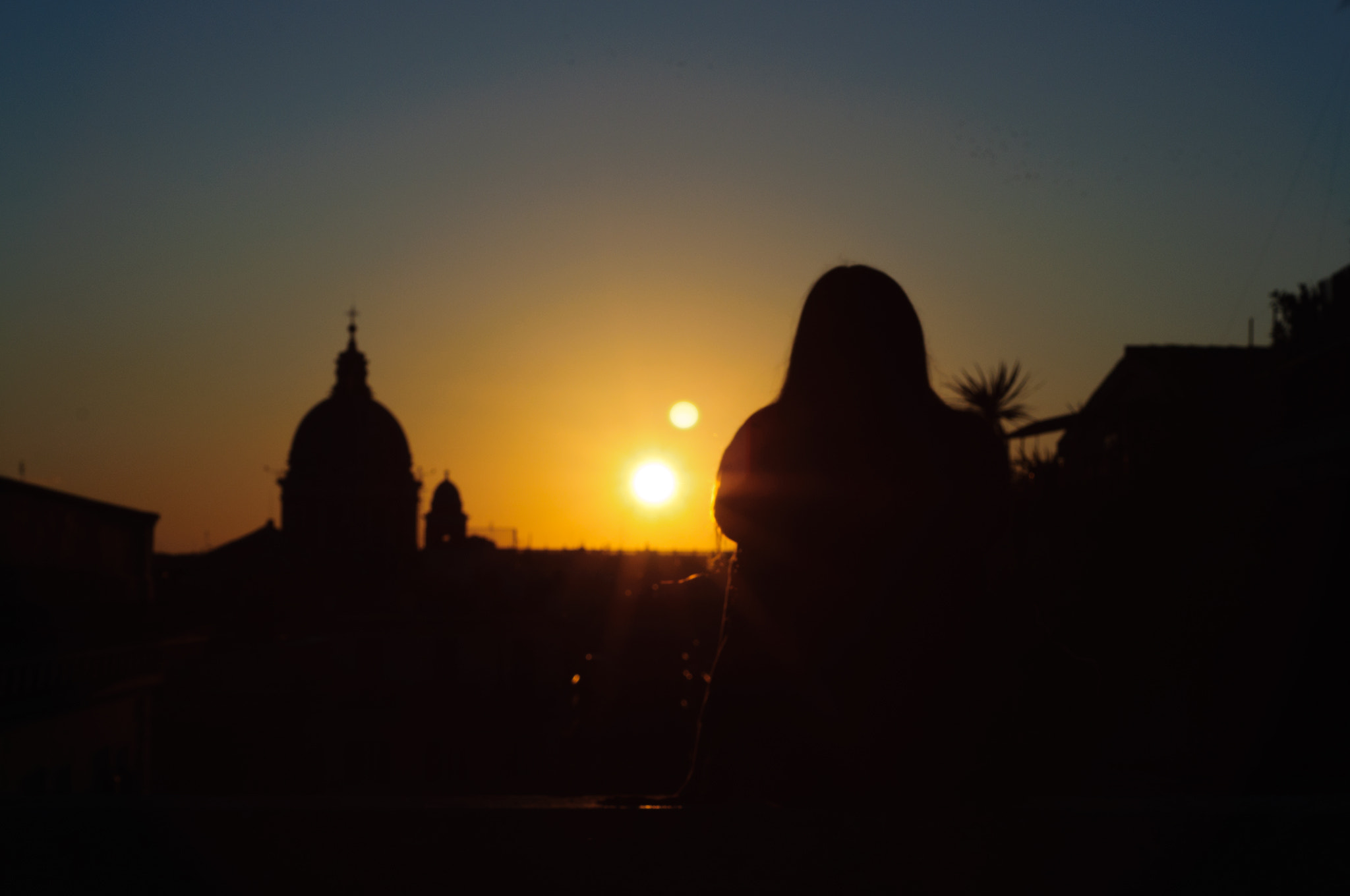 Photograph her sunset in Rome by Alessandro Galloni on 500px