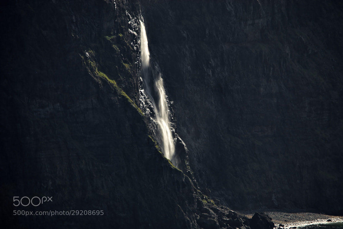 Photograph Cliff falls by John Barker on 500px