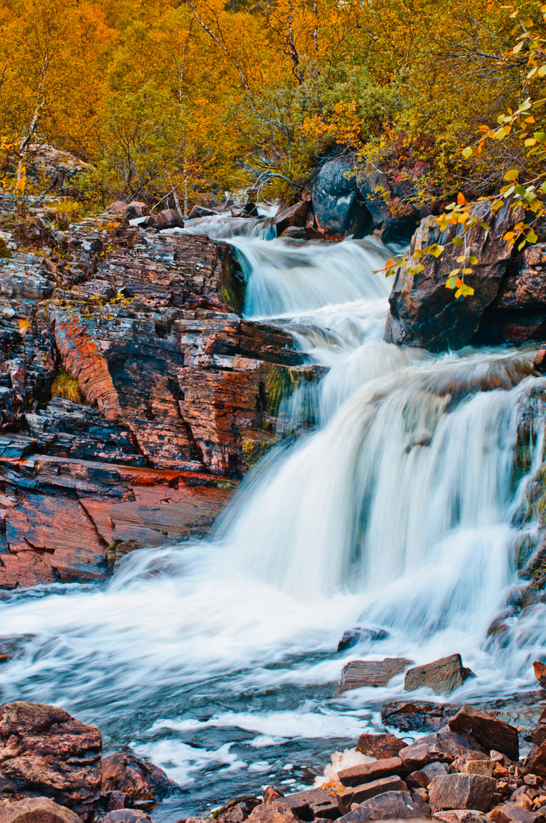 Photograph waterfall by Tor Ivan Boine on 500px