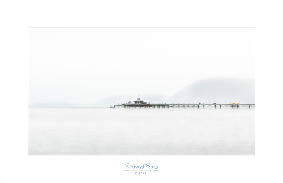 Garth Pier (from Château Rhianfa)