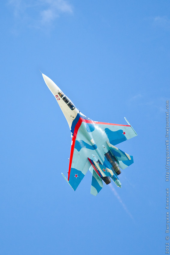 Photograph SU-27 by Alexey Vyguzov on 500px