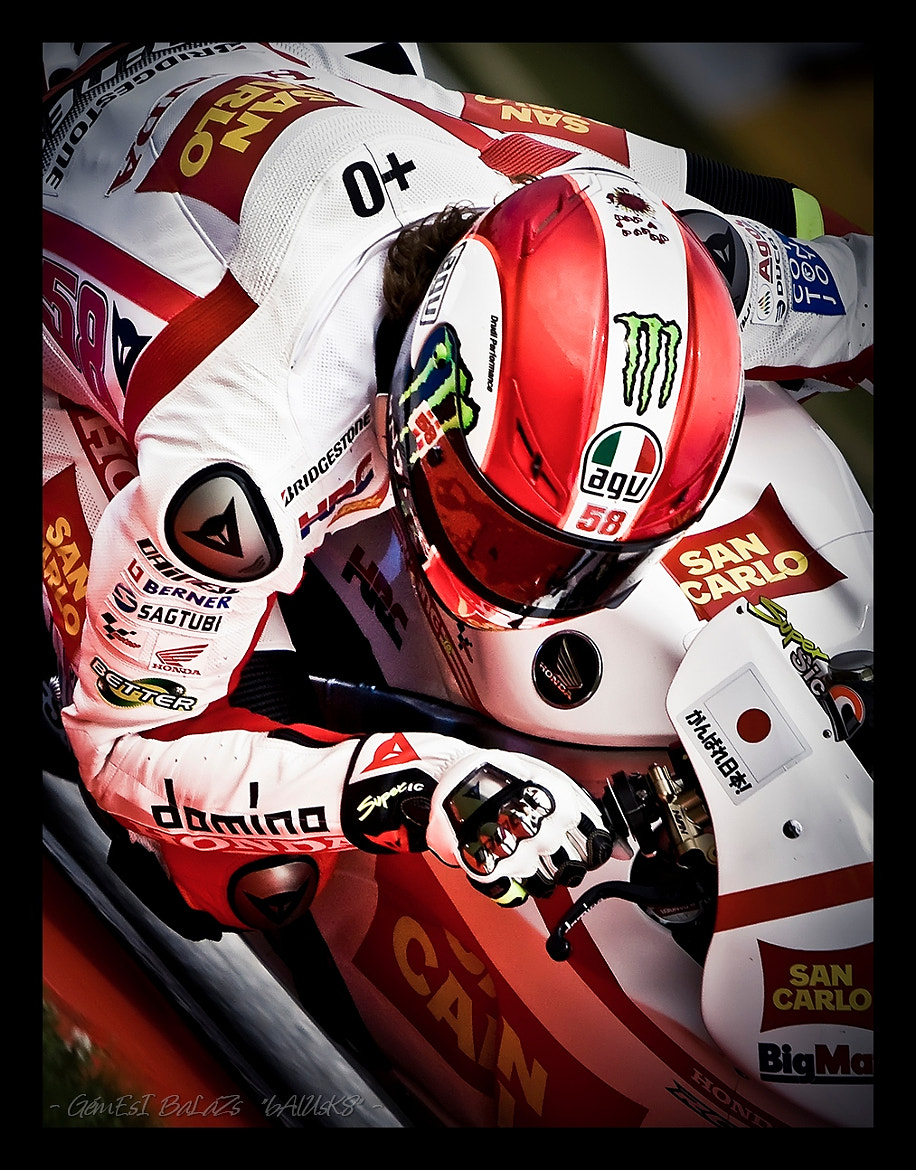 Photograph - In Memoriam Marco Simoncelli -  by balazs gemesi on 500px