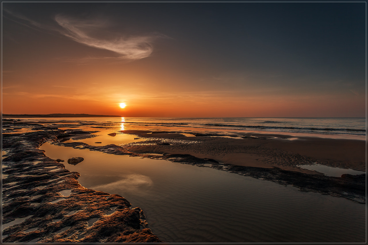 Photograph Sunset Cote Opal by Christophe Vandeputte on 500px
