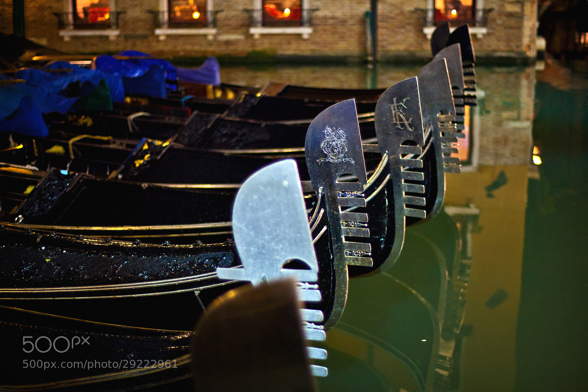 Photograph Parking only for gondolas by Andrey Sherstiuk on 500px