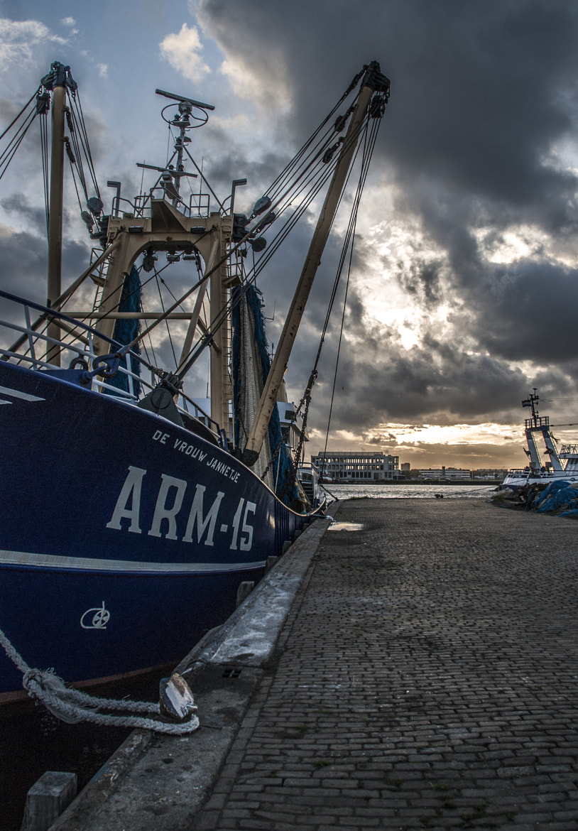 Photograph Fishing Boat Flushing by Prina de Nooijer on 500px