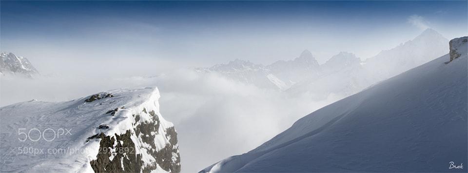 Photograph Sommets Alpins dans les nuages by BrÖk  on 500px