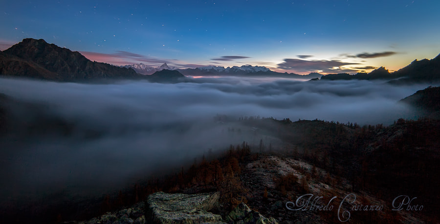 Photograph Dawn above the mist by Alfredo Costanzo on 500px