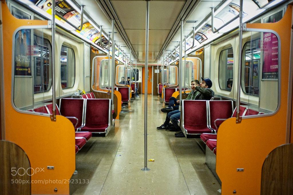 Photograph #23: 25-10-2011 - Subway, Toronto by Ren Bostelaar on 500px
