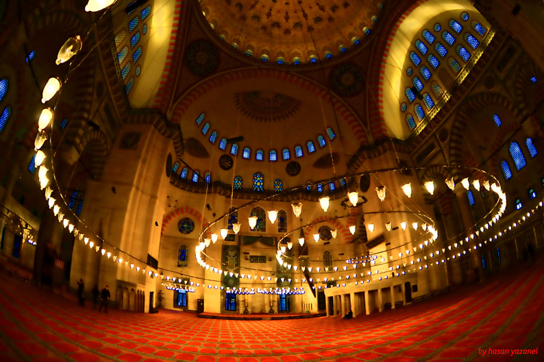 Photograph the big one... süleymaniye moscue... by lost karusell on 500px