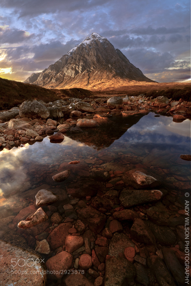 Photograph Buachaille Mor Etive by Andy Wilson on 500px