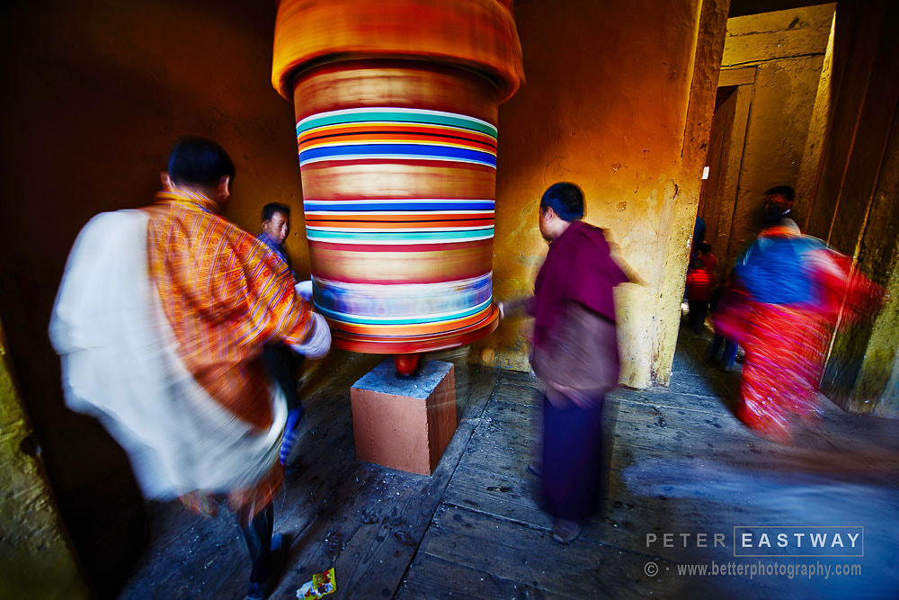 Photograph Jakar Wheel by Peter Eastway on 500px