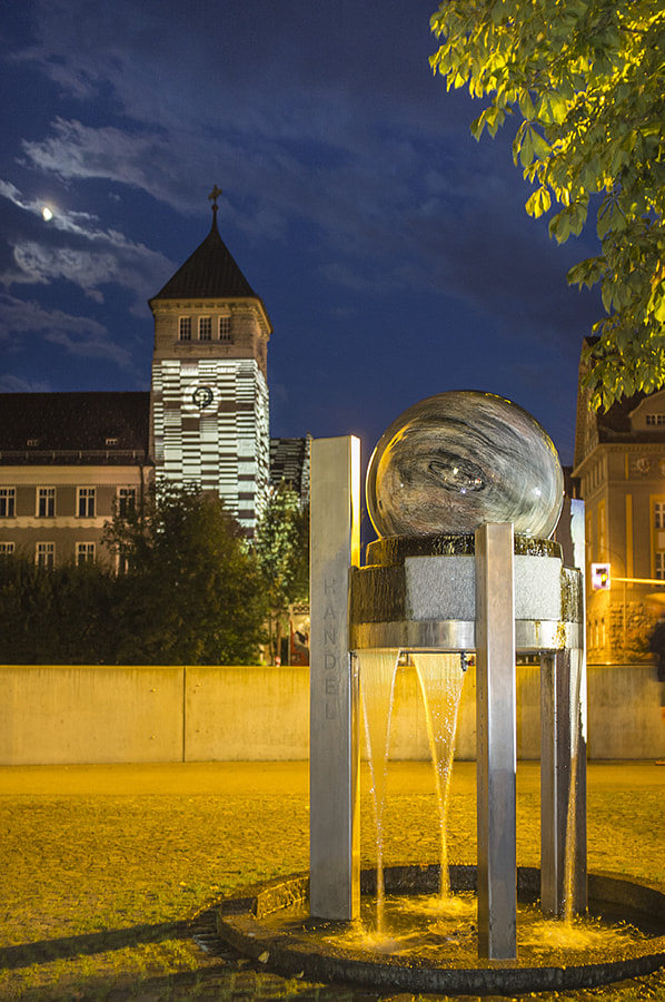 Kugel fountain by Ana V. on 500px.com