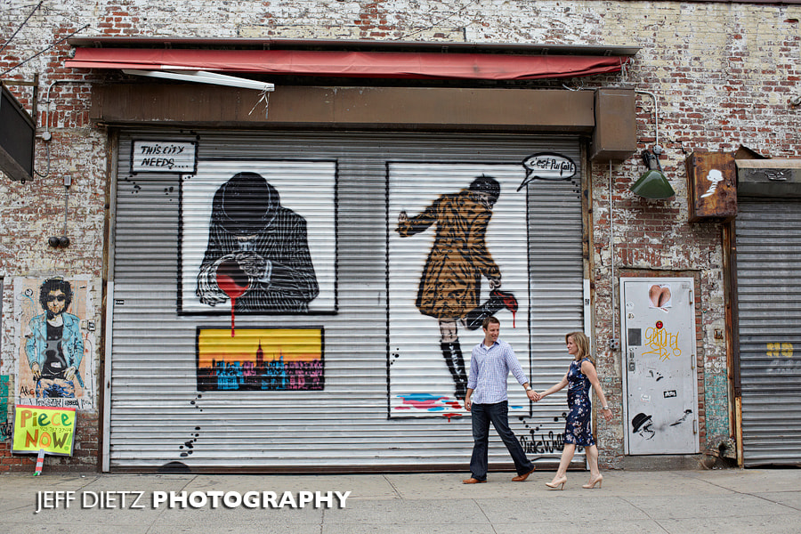 Photograph Engagement in Chelsea Market area  by Jeff Dietz on 500px