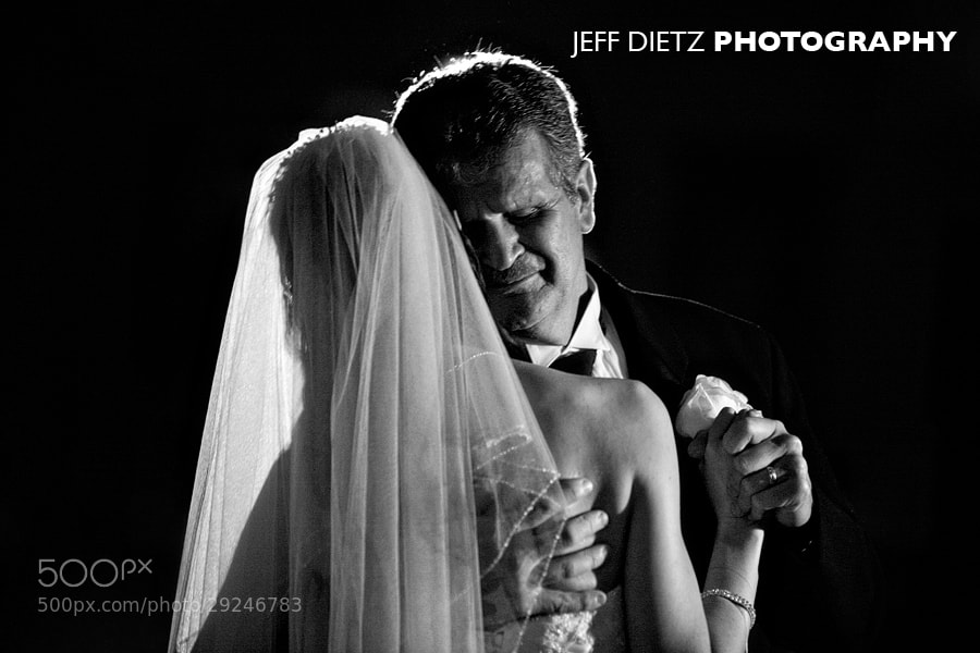 Photograph Dancing with her father by Jeff Dietz on 500px