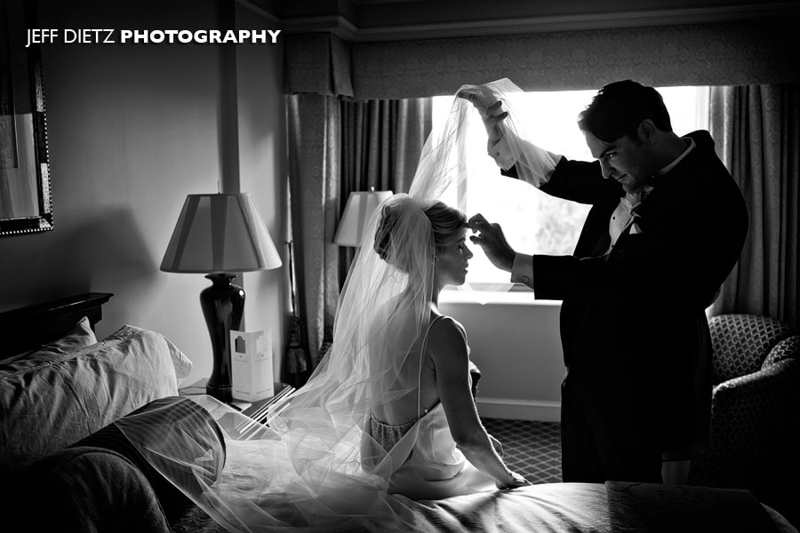 Photograph Moments before a Philadelphia Wedding by Jeff Dietz on 500px