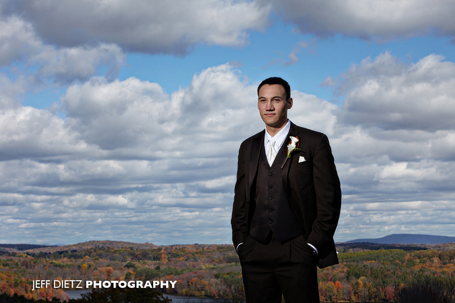 Photograph Dallas, PA fall wedding by Jeff Dietz on 500px