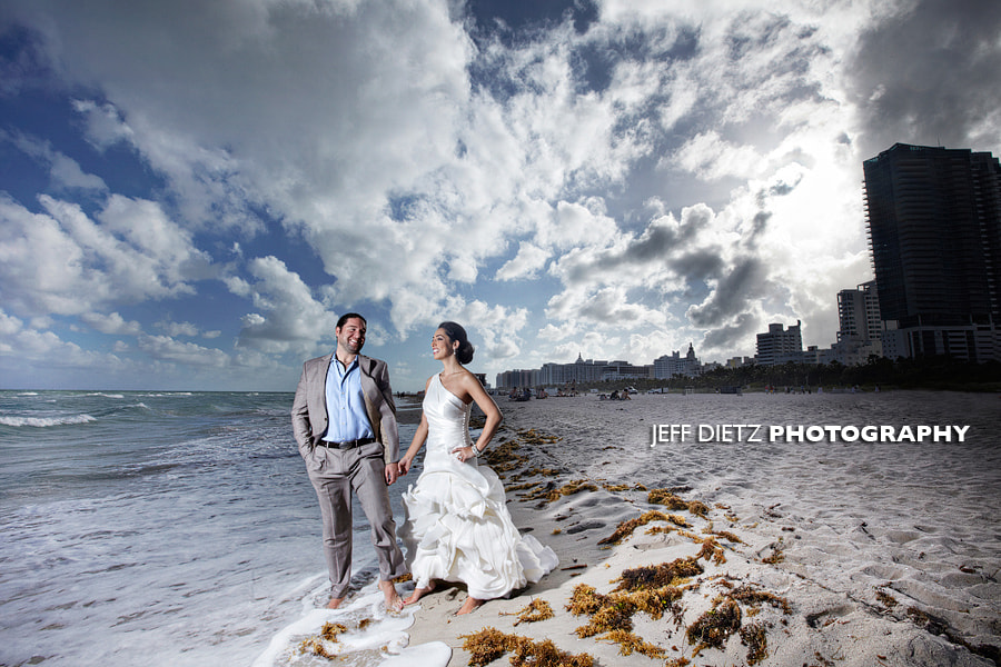 Photograph Miami Trash the dress by Jeff Dietz on 500px