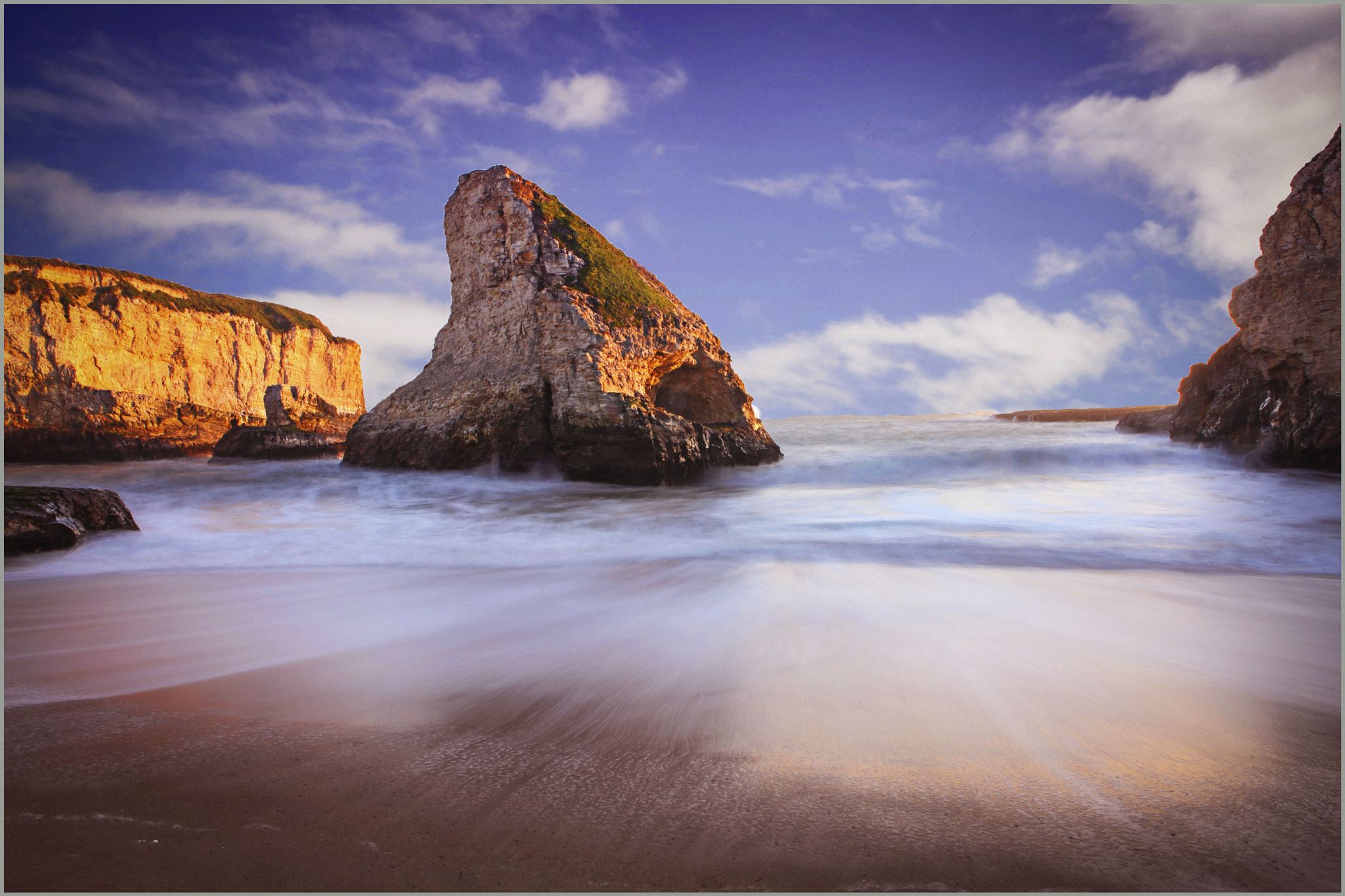 Photograph Shark fin cove. by Celso Adolfo on 500px