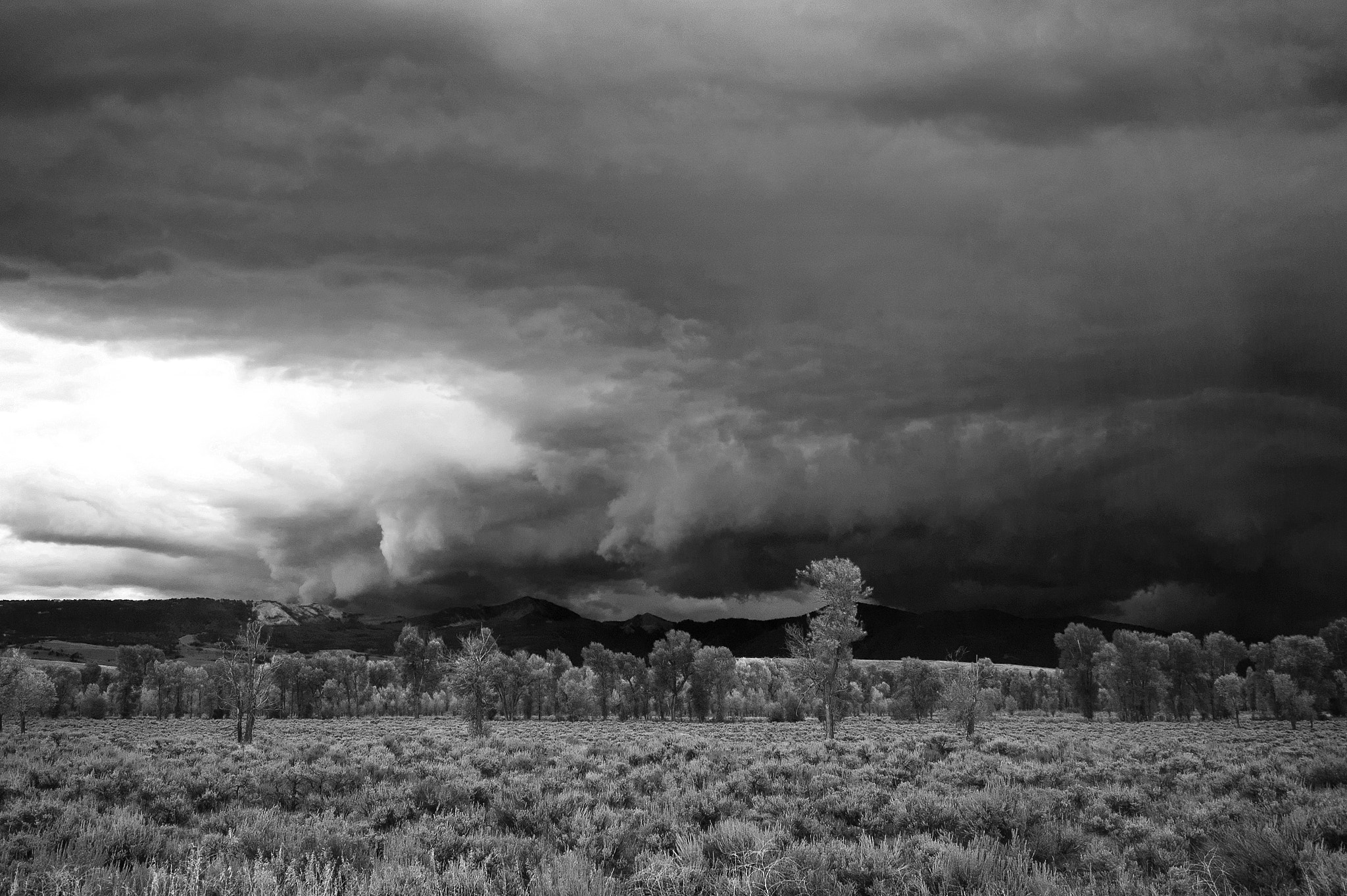 Photograph storm over the gros ventre by Robert Warren on 500px