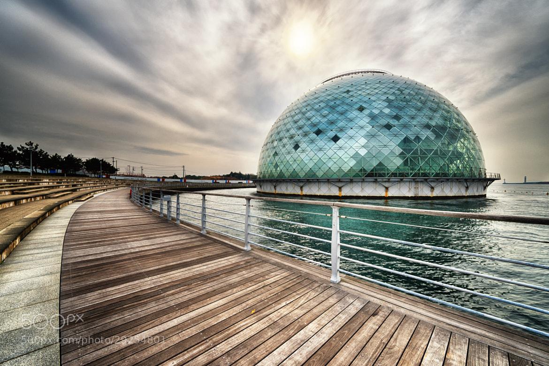 Photograph Big Egg on the sea -Osaka Maritime Museum- by Yoshihiko Wada on 500px