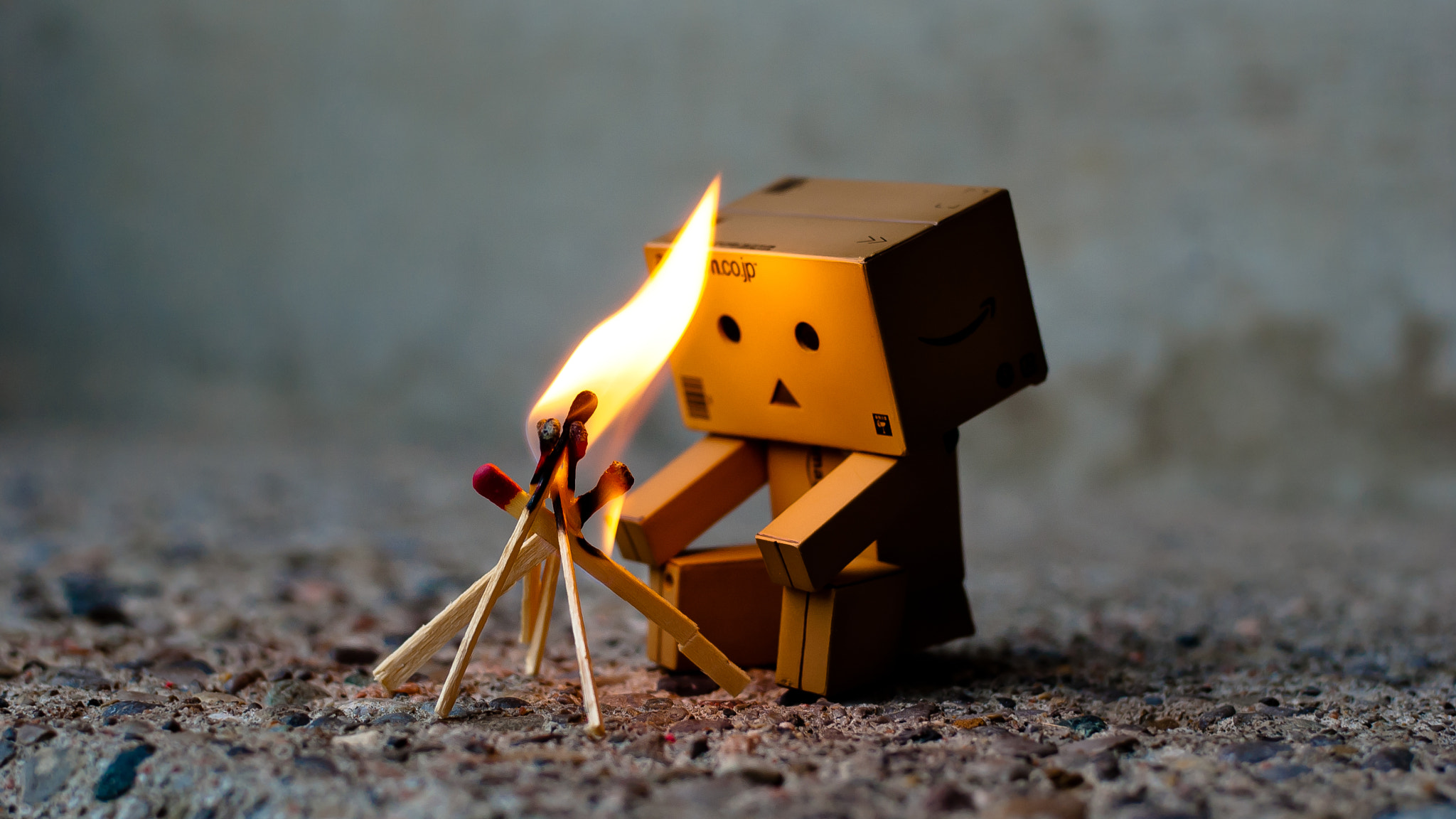 Photograph Danbo warms up by Matthew Huie on 500px