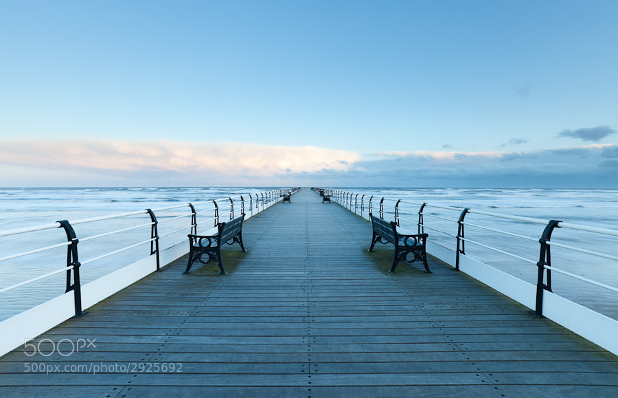Photograph Cold winter morning on Saltburn Pier by John Q on 500px
