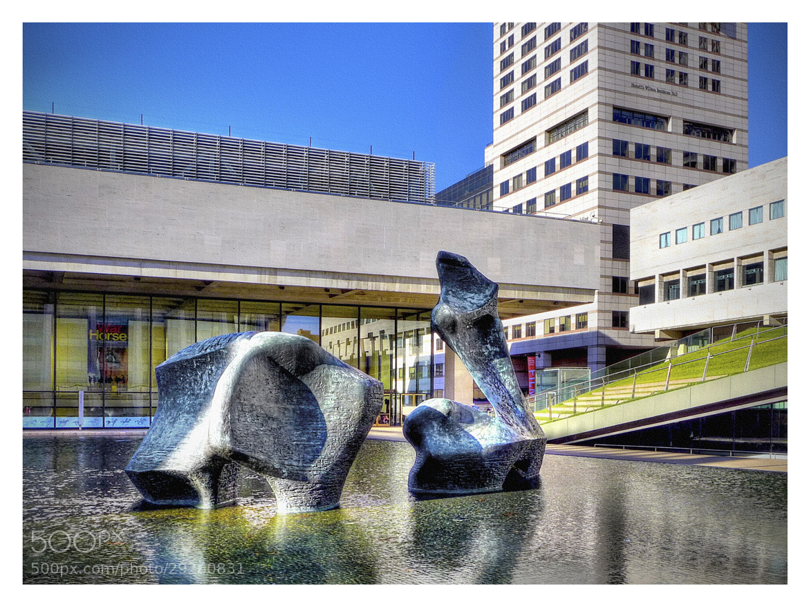 Photograph Sculpture at Lincoln Center by Steven Li on 500px