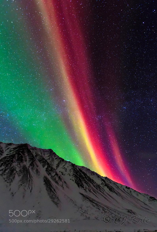 Photograph Aurora Rainbow by Cj Kale on 500px