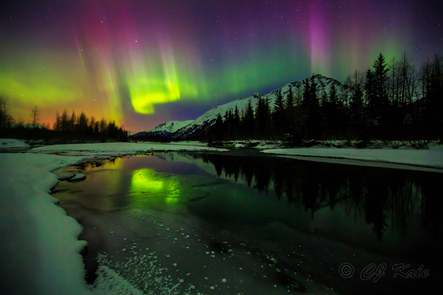 Photograph Aurora Dreamscape by Cj Kale on 500px