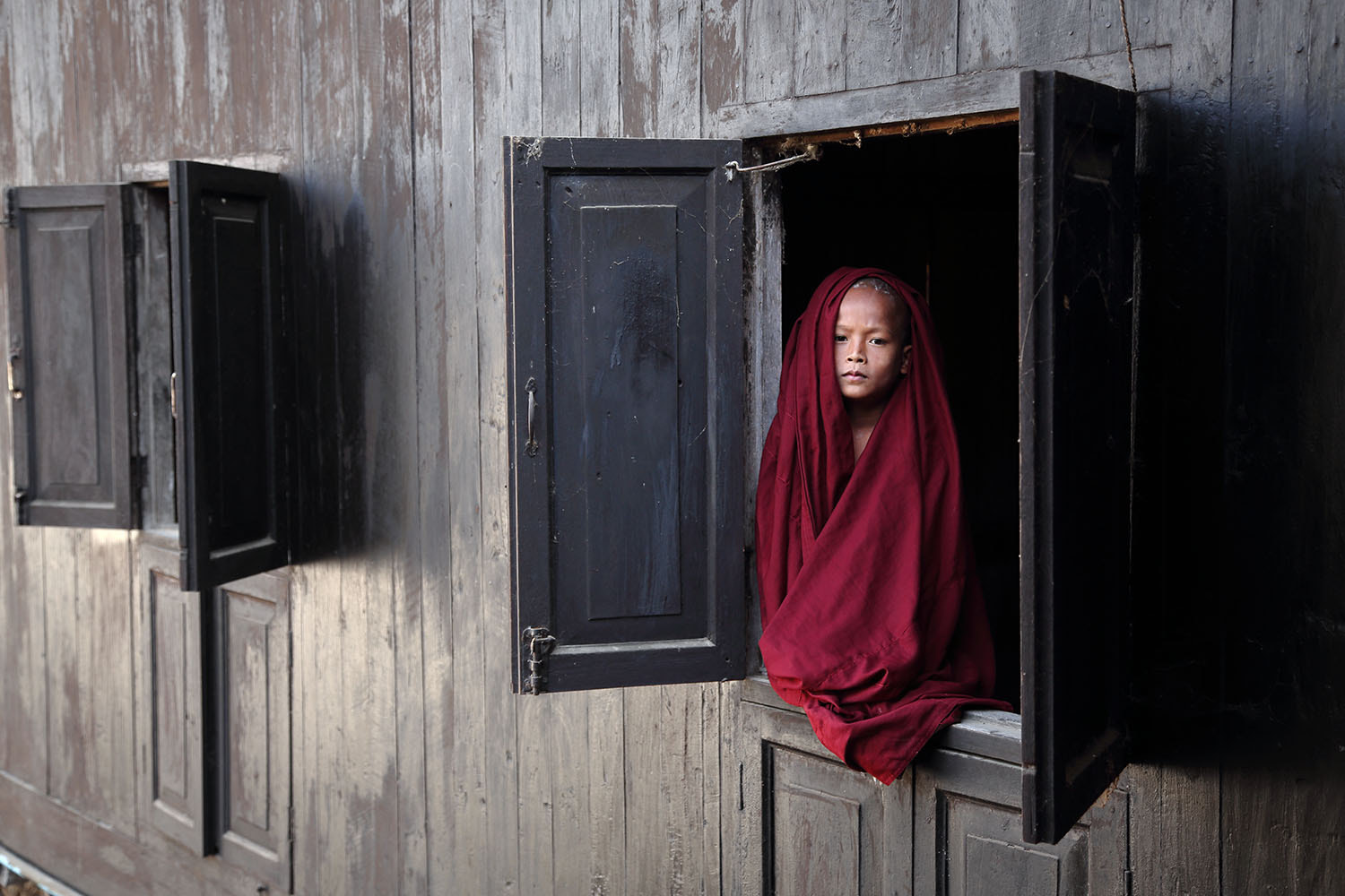Photograph Little Monk by the window by Masashi Mitsui on 500px