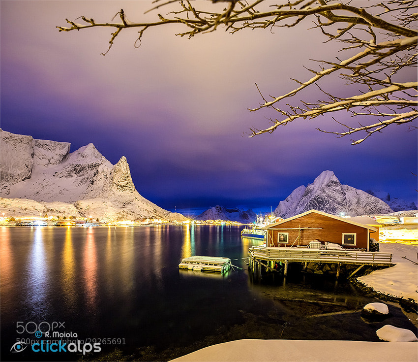 Photograph Reine Blue Hour by SysaWorld Roberto Moiola on 500px