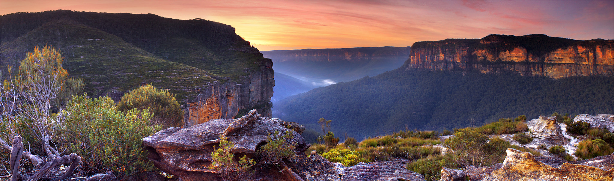 Photograph From The Top Of The World || GROSE VALLEY || BLUE MOUNTAINS by Rhys Pope on 500px