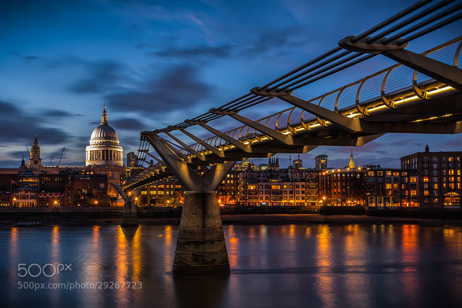 Crossing the Thames by Panta Rei Photo  on 500px.com