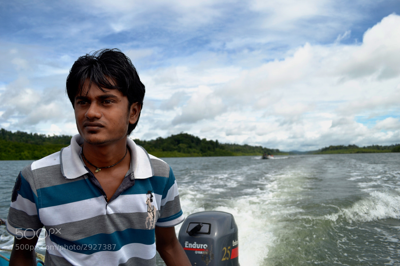 Photograph Boatman by Anil Kumar on 500px