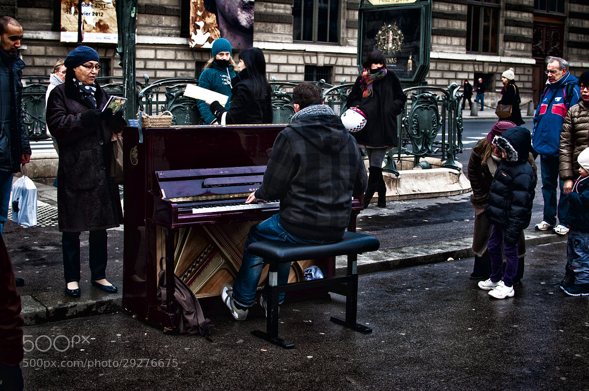 Photograph Street pianist by JT Jones on 500px