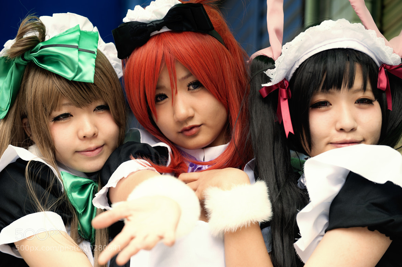Photograph Osaka Maid Trio by hugh dornan on 500px