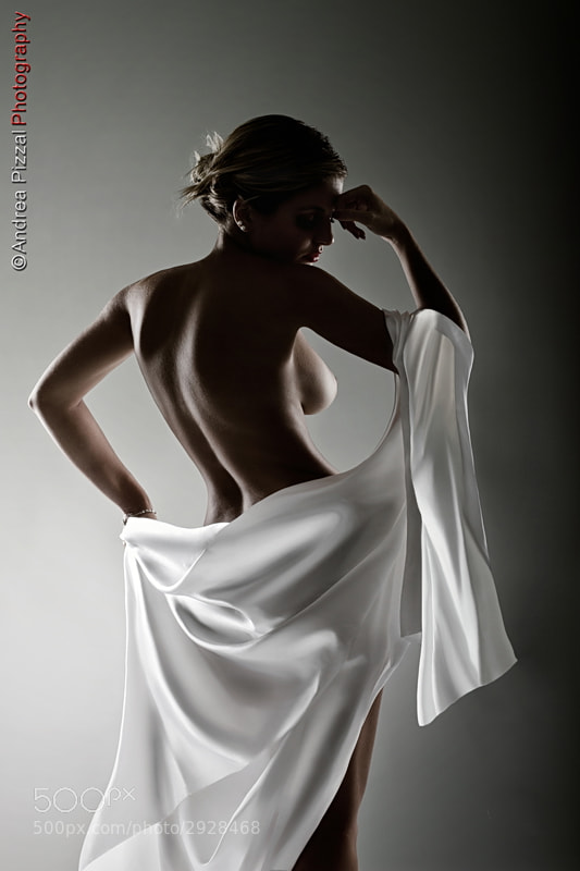 Photograph Lady In White... by Andrea Pizzal on 500px